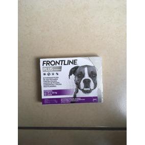 Paquete De 3 Pipetas Frontline Plus De 20-40 Kg P/perro
