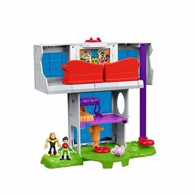 Imaginext Torre Dos Jovens Teen Titans Mattel