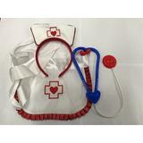 Kit Fantasia Enfermeira Para Carnaval