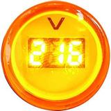 Voltimetro Digital Mini Monobloque Led 220 Volt