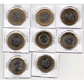 Colecciona Ocho Monedas 20 Pesos ¡ Que Precio
