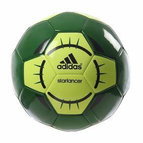 b81798583d588 Balón adidas Starlancer Futbol Soccer Verde Ab9171 Original