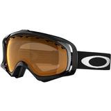 Oakley Unisex-adulto Gafas De Crowbar (negro Jet, Caqui)