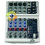 Consola Sonido Peavey Pv6 6 Canales 4 Mics 2 Stereo Pasiva
