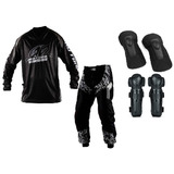 Kit Equipamento Insane Protork Motocross Trilha - 04 Peças