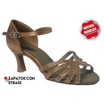 Zapatos De Baile Con Strass Salsa Bachata Kizomba Darcos