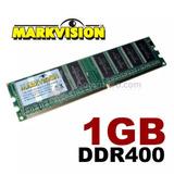 Memoria De 1gb Ddr400 Pc3200 Markvision 184pinos Desktop!!!!