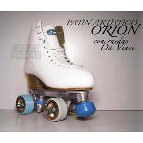 Patín Artístico Profesional Top Skate Orion Ruedas Davinci