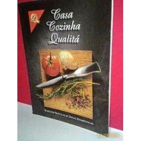 Livro De Receitas- Casa Cozinha Qualitá * Foto Real