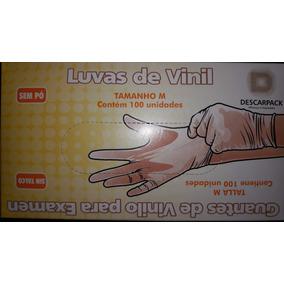 Luva De Vinil P/ Procedimento Descarpack Tamanho M (caixa)