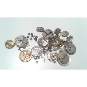 Relojeria Subasta De Repuestos Antiguos Lote D16