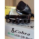 Rádio Px Cobra 25lx 40canais Menor Preço + Garantia