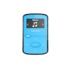 Sandisk Mp3 Player Sansa Clip Jam 8 Gb Azul Entrada Cartão