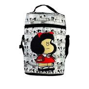 Bolso Matero Térmico Equipo De Mate Mafalda