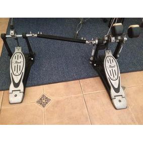 Doble Pedal Pearl Para Baterías