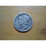 Moneda One Dime Mercury