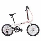 Bicicleta Plegable De Aluminio Sbk Rodado 20