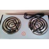 Cocina Eléctrica Portatil De 2 Hornillas. Marca: Salcar