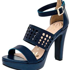 Zapatillas Zapatos Dama Azul Damita Sintetico Udt 83857