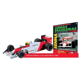 Lendas F1 1:43 #01 Ayrton Senna - Mclaren Mp4/4 (1988)