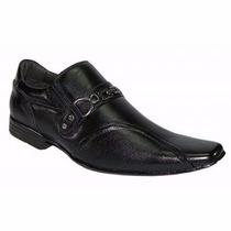 Sapato Social Masculino Em Couro Legítimo Sola Personalizada