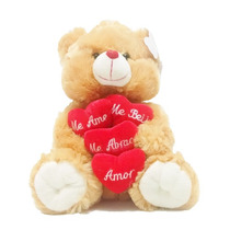 Urso De Pelúcia Grande Lindíssimo 4 Coração Pronta Entrega!