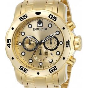 Relógio Invicta Pro Diver 0074 - Original Dourado
