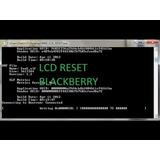 Reset Lcd Blackberry Todos Los Modelos