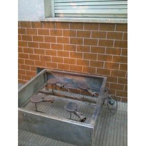 Anafe Industrial 4 Hornallas. Gas Natural. Garafa. Caseros