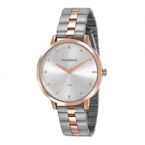 5de4dd08fde Rosa De Ouro Guess U0024l1 Prata - Relógios De Pulso no Mercado ...