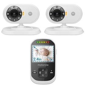 Babá Eletronica Motorola Mbp25-2 Com 2 Cameras