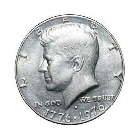 Moneda Coleccion Bicentenario Kennedy Half Dollar 1776 1976