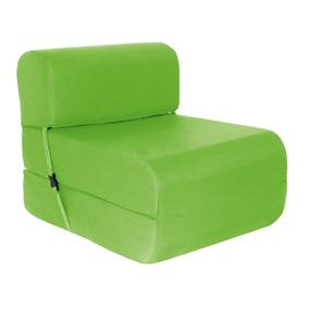 Sillón Cama Imperial D-15 0,90 Cm. Verde
