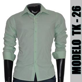 Camisa Social Slim Fit Importada Tk-26
