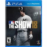 Mlb The Show 18 Standard Edition - Ps4 - Playstation 4