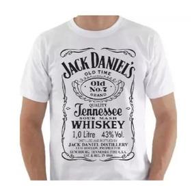 Camiseta Malha Branca Masculina M