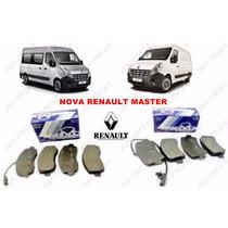 Kit Pastilhas Dianteira E Traseira Renault Nova Master 2014
