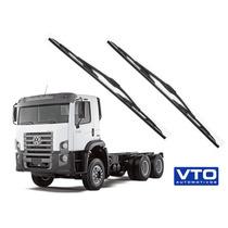 Kit Limpador De Parabrisas Caminhão Vw Constellation Todos