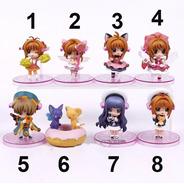 Sakura Card Captors - 7 Cm - Apenas Modelo 8 Na Caixa