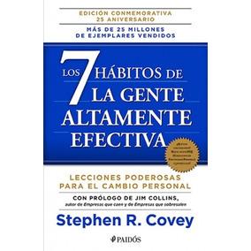 Libro Los 7 Hábitos De La Gente Altamente Efectiva / Paidos