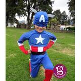 Disfraz Capitán América Disfraces Niños Avengers Babycute