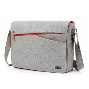 Maletín Porta Notebook 15,6 Zom Impermeable Zm 150g Gris