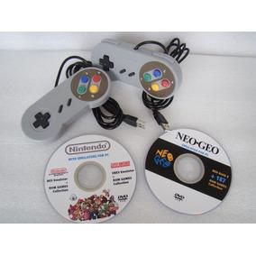 Juegos Pc Super Emuladores Nes Snes Nintendo Neogeo Control