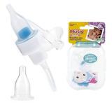 Aspirador Nasal Asistido Nuby - Bebés Y Niños