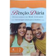 Livro Devocional Benção Diária - Max Lucado + Brinde