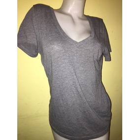 Remera Importada Gris Talle S/m