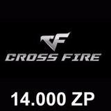 Crossfire Jogo Pc - Cartão De 14.000 Zp Cash - Imbatível!