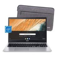 Chromebook Acer 315 N4000 4gb 32gb Notebook 15.6 Chrome Os
