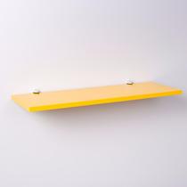 Prateleira Crie Fácil Amarelo 40cm X 20cm Com Suporte Tucano
