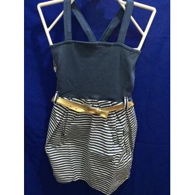 Vestido Carinhoso - Tamanho 14 Com Cinto